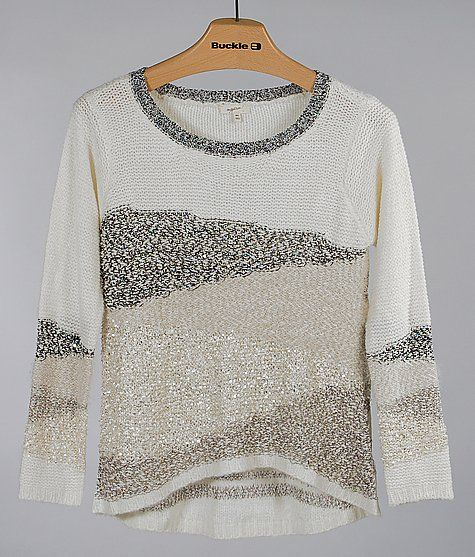 Mystree Pointelle Sweater