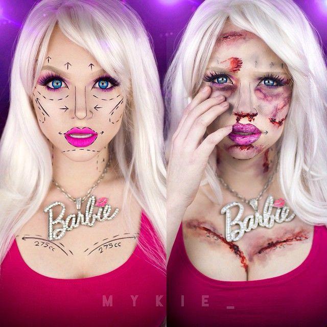 Instagram Post by mykie (@mykie_) iOS App, Pride and Vanities - barbie halloween costume ideas