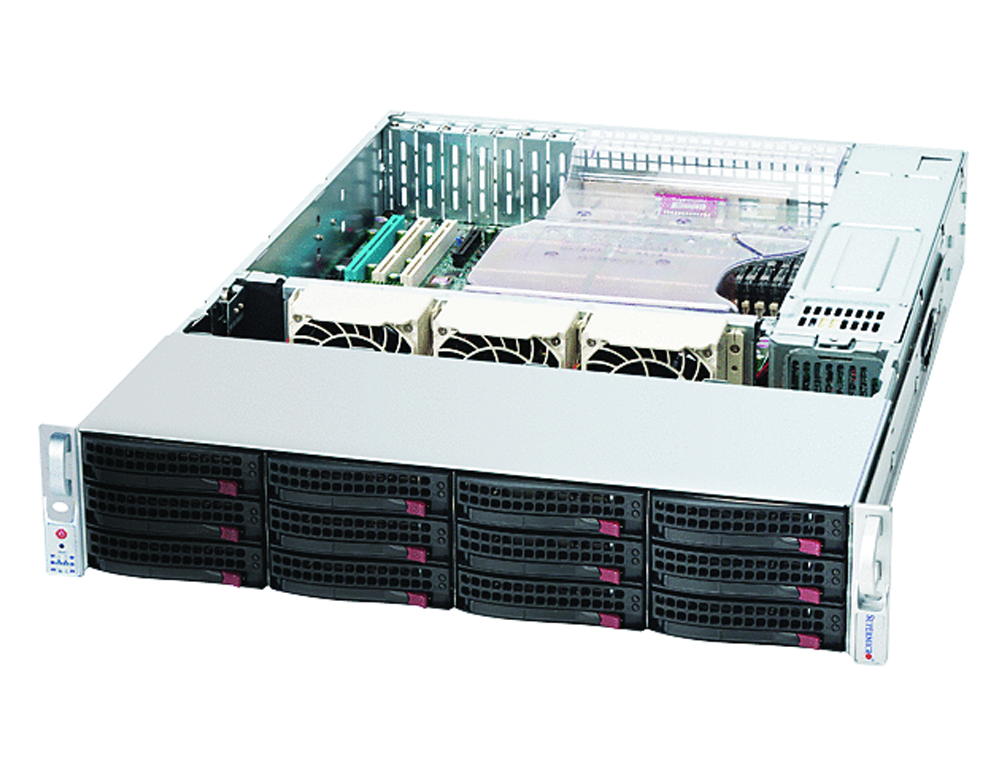 Supermicro 2U X8DTN+ - Dual Intel Xeon E5649 Hex Core 2 4GHz 2U