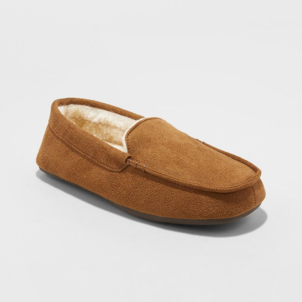 Moccasin Slippers Cat \u0026 Jack Tan L (4-5