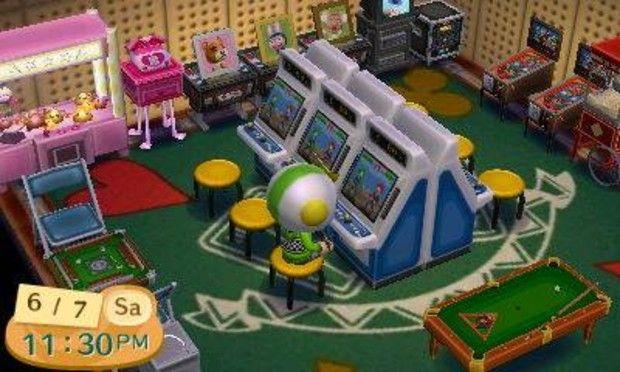 Arcade Room Arcade Room Animal Crossing Arcade