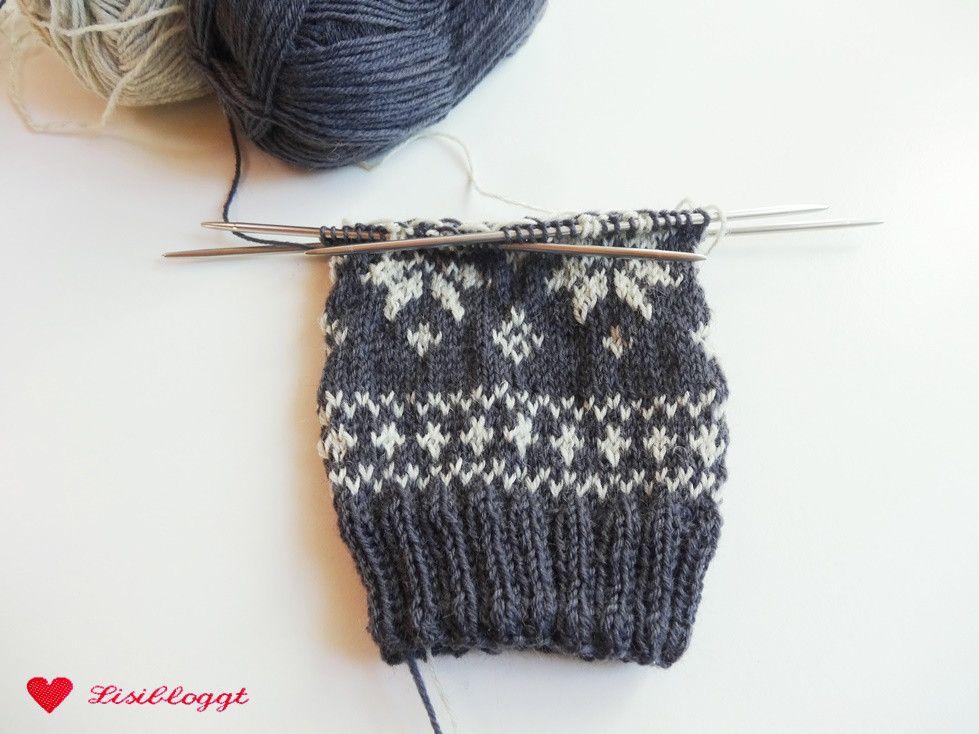 Photo of Anleitung: Norwegische Socken mit einem Sternchenmuster stricken