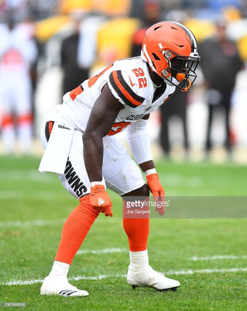 Jabrill Peppers Of The Cleveland Browns In Action During The Game Cleveland Browns Cleveland Browns History Cleveland Browns Football