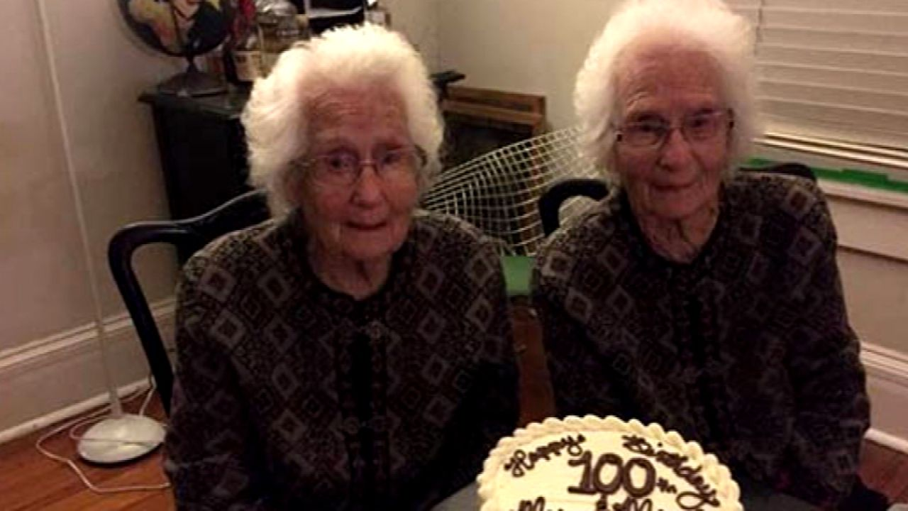 Identical twins remain inseparable as they celebrate turning100 https://t.co/gzvIrEO7Nl https://t.co/cJ3KvPSSRQ