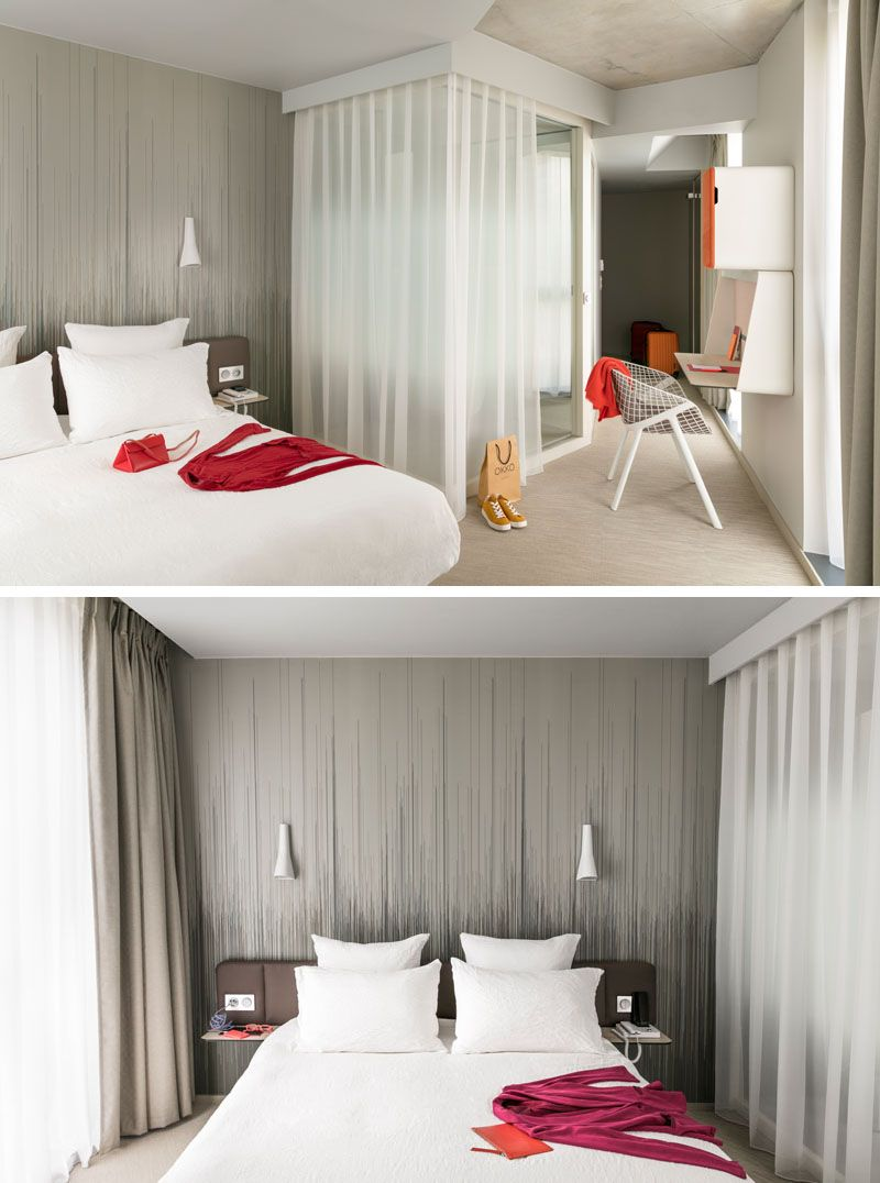 Hotel Room Wall: Patrick Norguet Has Designed The Interior Of The Newly