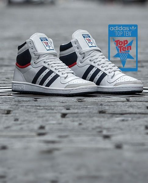 adidas Originals Top Ten High | Sneakers men fashion, Adidas