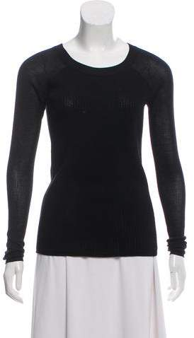 444b6bcc6b9d Reed Krakoff Knit Scoop Neck Sweater in 2019 | Products | Long ...