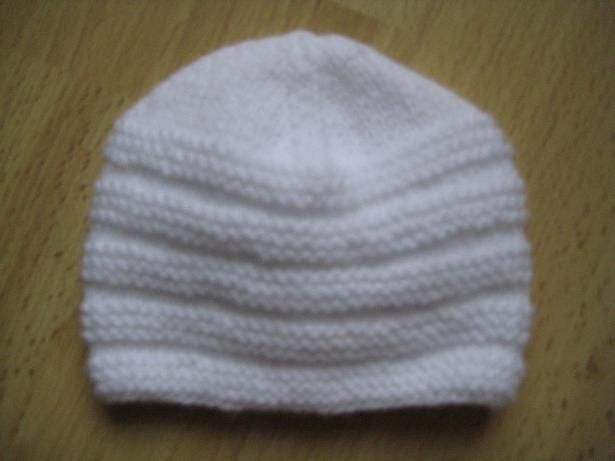 patron tricot bonnet nouveau-ne