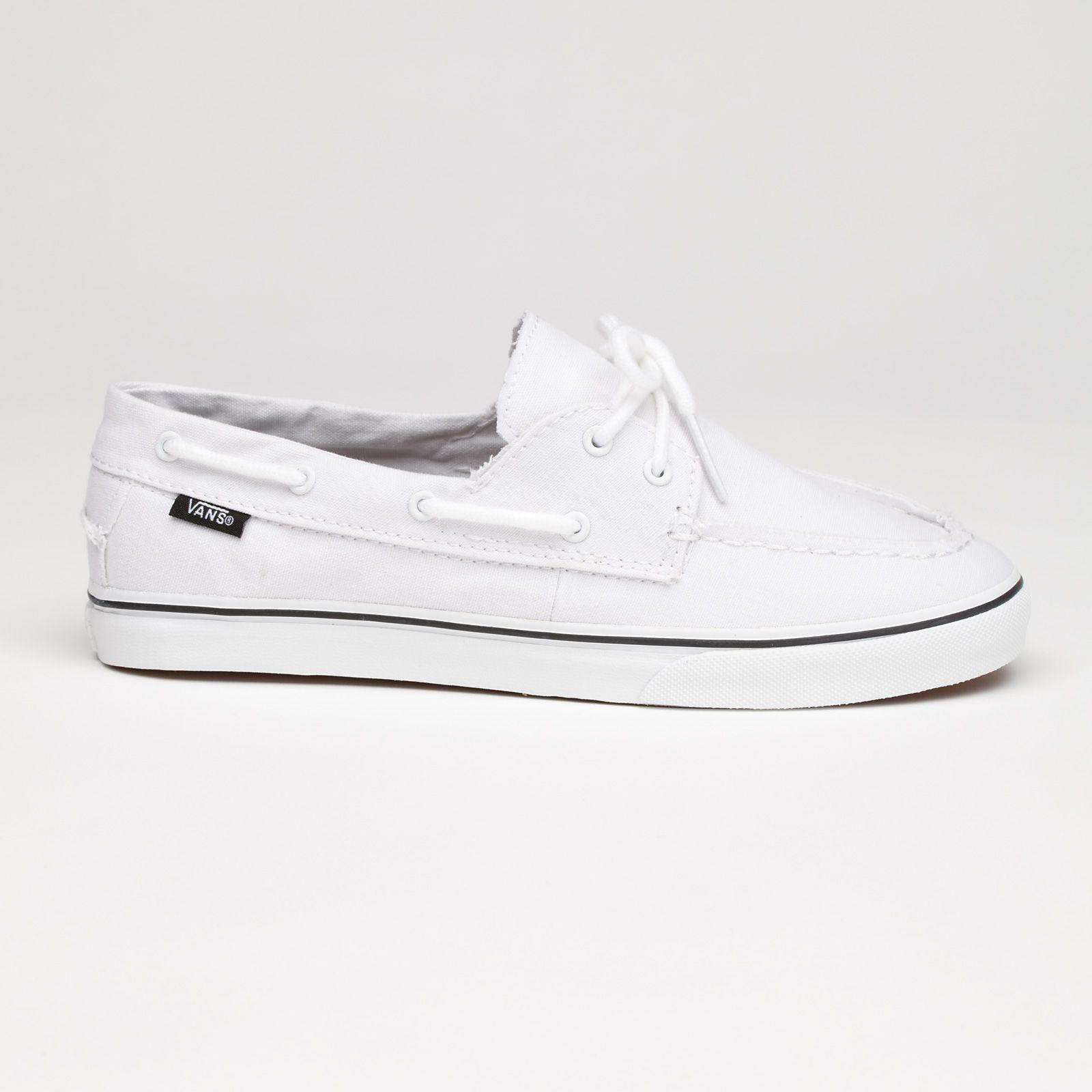 5e35e6ba13 Vans Canvas Zapato Lo Pro in True White  55