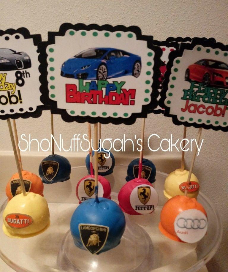 Luxury Car Cake Pops By Shonuffsugah S Cakery Shonuffsugah