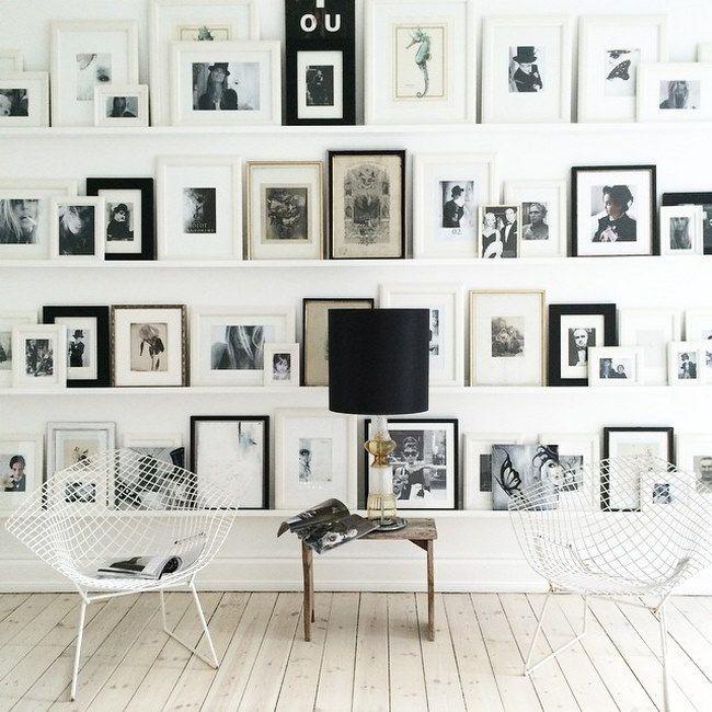 mur cadres id es 19 home sweet home pinterest recherche et d co. Black Bedroom Furniture Sets. Home Design Ideas