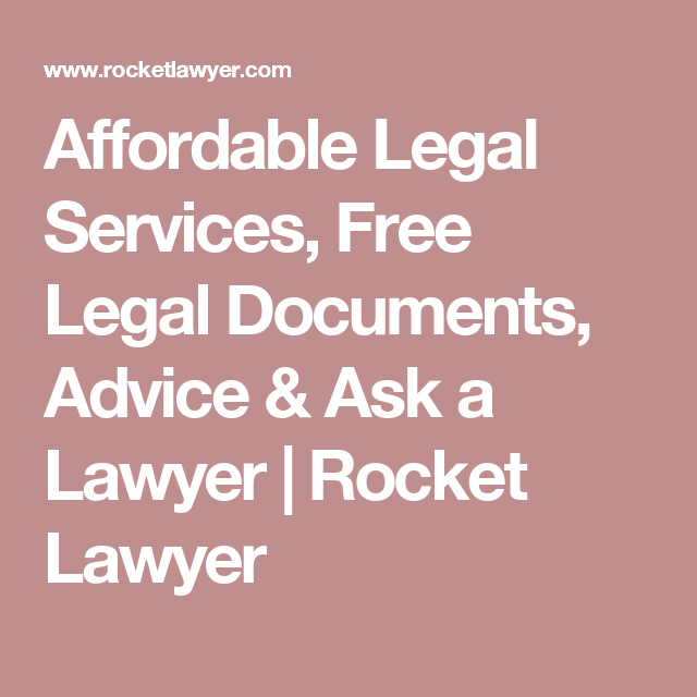 Affordable Legal Services, Free Legal Documents, Advice