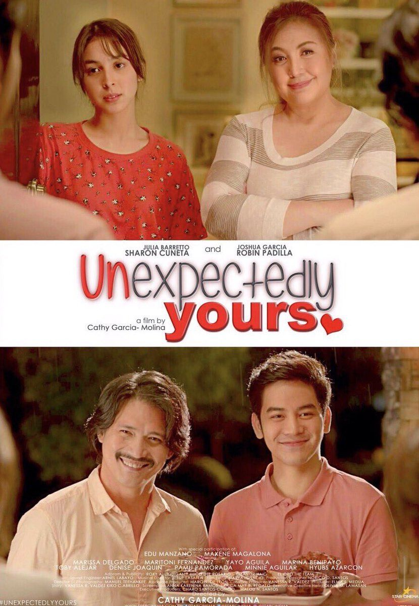 Unexpectedly Yours 2017 Starring Julia Barretto Sharon Cuneta Joshua Garcia Robin Padilla Pinoy Movies Movies Online Free Film Streaming Movies Online