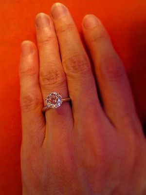 348ae553b 2.5 carats... wow... I wish. .simply beautiful - with a super super skinny  micro pave band