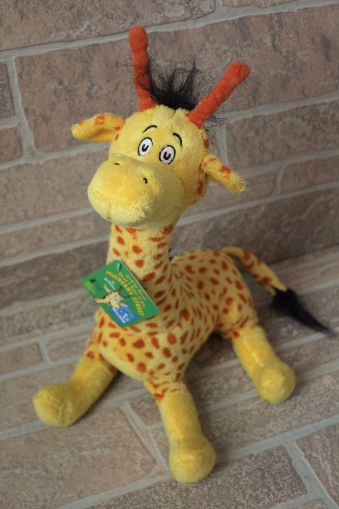 Nwt Kohls Cares Plush Giraffe Dr Seuss To Think I Saw It On Mulberry Street 15 Kohls Mulberry Street Giraffe Mulberry