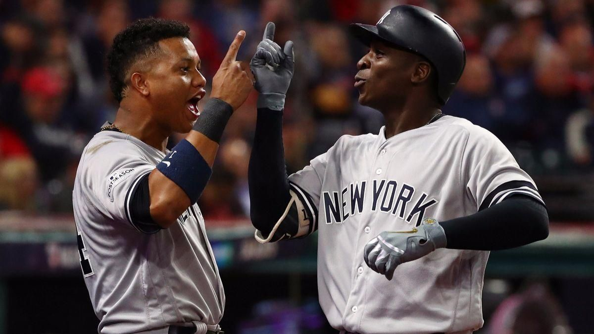 Yankees Stun Indians In Game 5 World Series Odds Move In Dodgers Favor Yankees World Series Indians