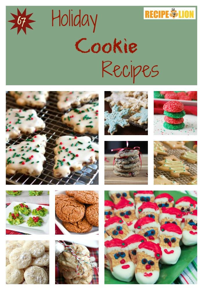 So many cookies! Find the perfect Christmas cookie in this list of 67 Holiday Cookie Recipes.