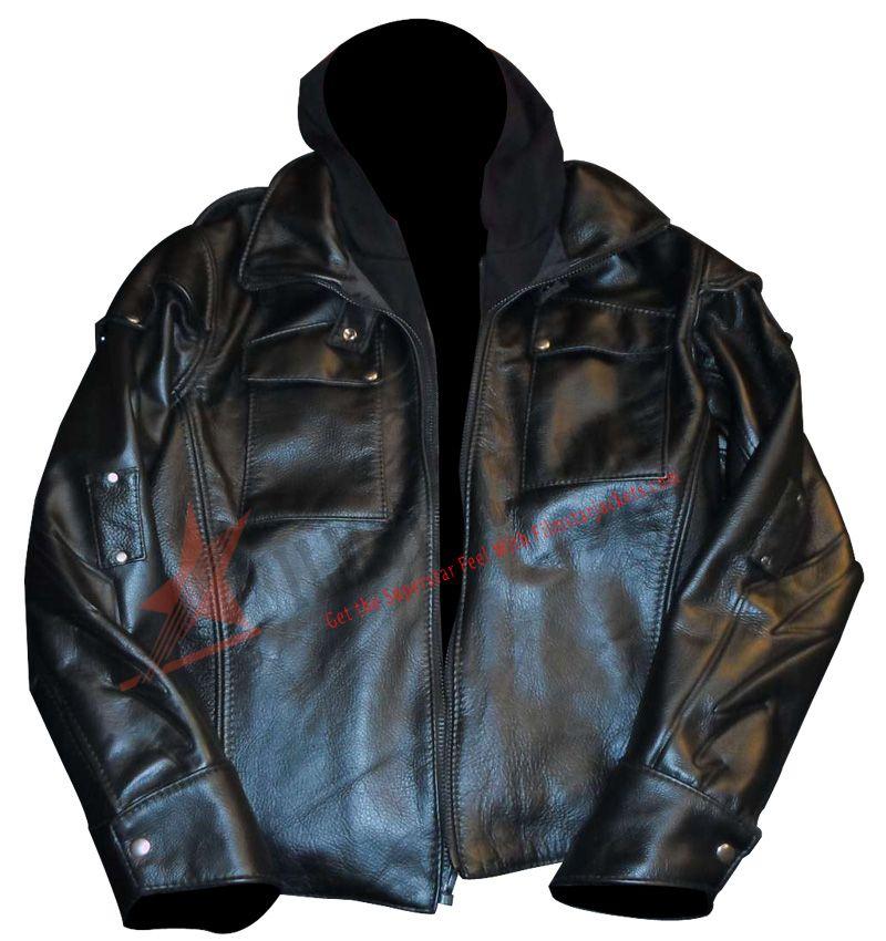 Pin On Prototype 2 Sgt James Heller Black Leather Jacket