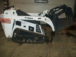 Bobcat Mt55 Tracked Loader