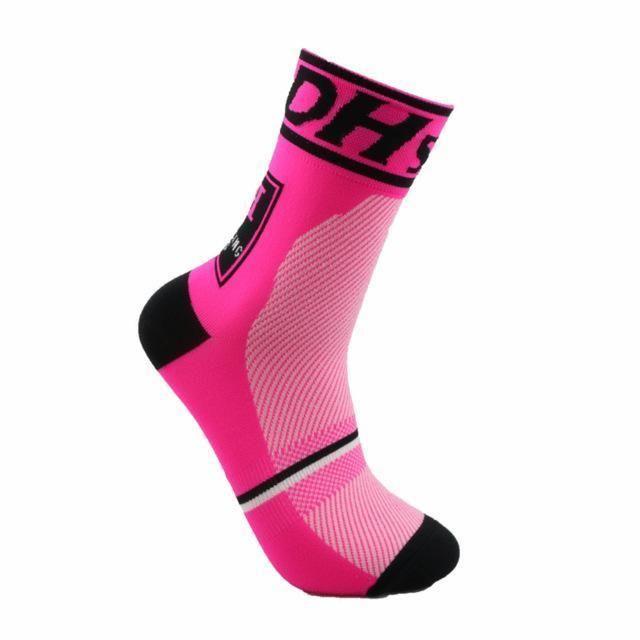 Women Men Cycling Riding Socks Basketball Running Sport Breathable Sock New