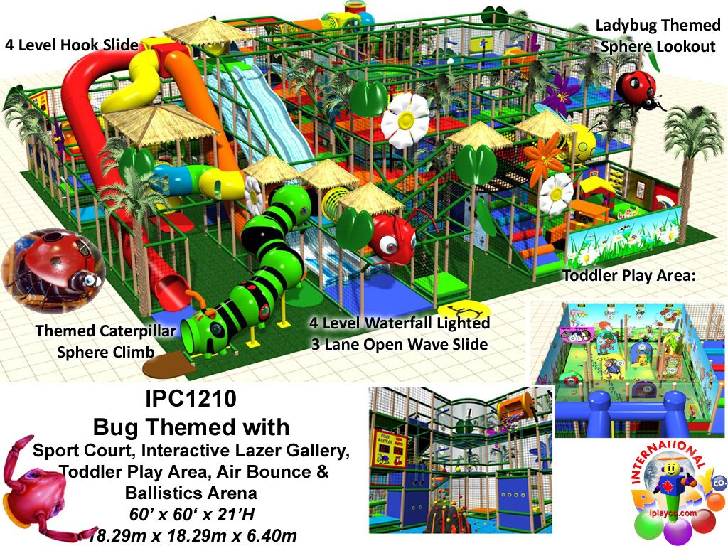 Commercial indoor playground equipment manufacturer fec for Indoor playground design ideas