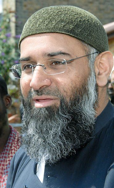 KICK THIS TRASH OUT OF BRITAIN AND LET HIM CRAWL BACK UNDER THE ROCK HE CAME FROM. The world will be better when he GONE. Anjem Choudary, one of the most notorious hate preachers living in Britain, is facing jail after being found guilty of supporting Islamic State. Having avoided arrest for years despite his sympathy for extremism and links to some of Britain's most notorious terrorists, Choudary was convicted at the Old Bailey after jurors heard he had sworn an oath of allegiance to Isil.