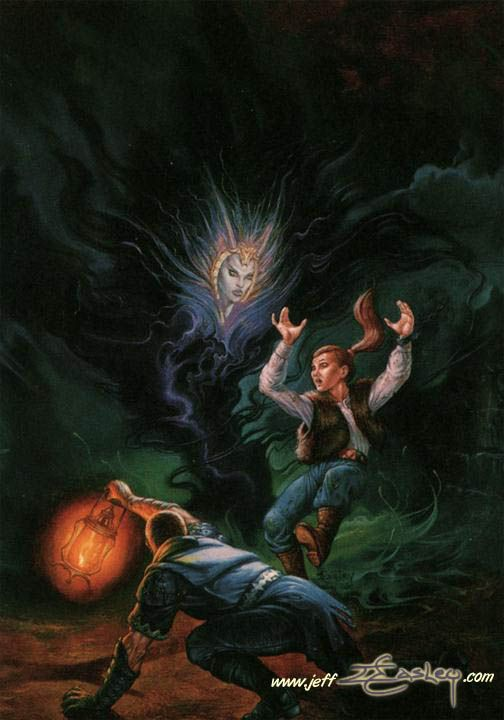 Dragonlance, Preludes, Kendermore by Jeff Easley.