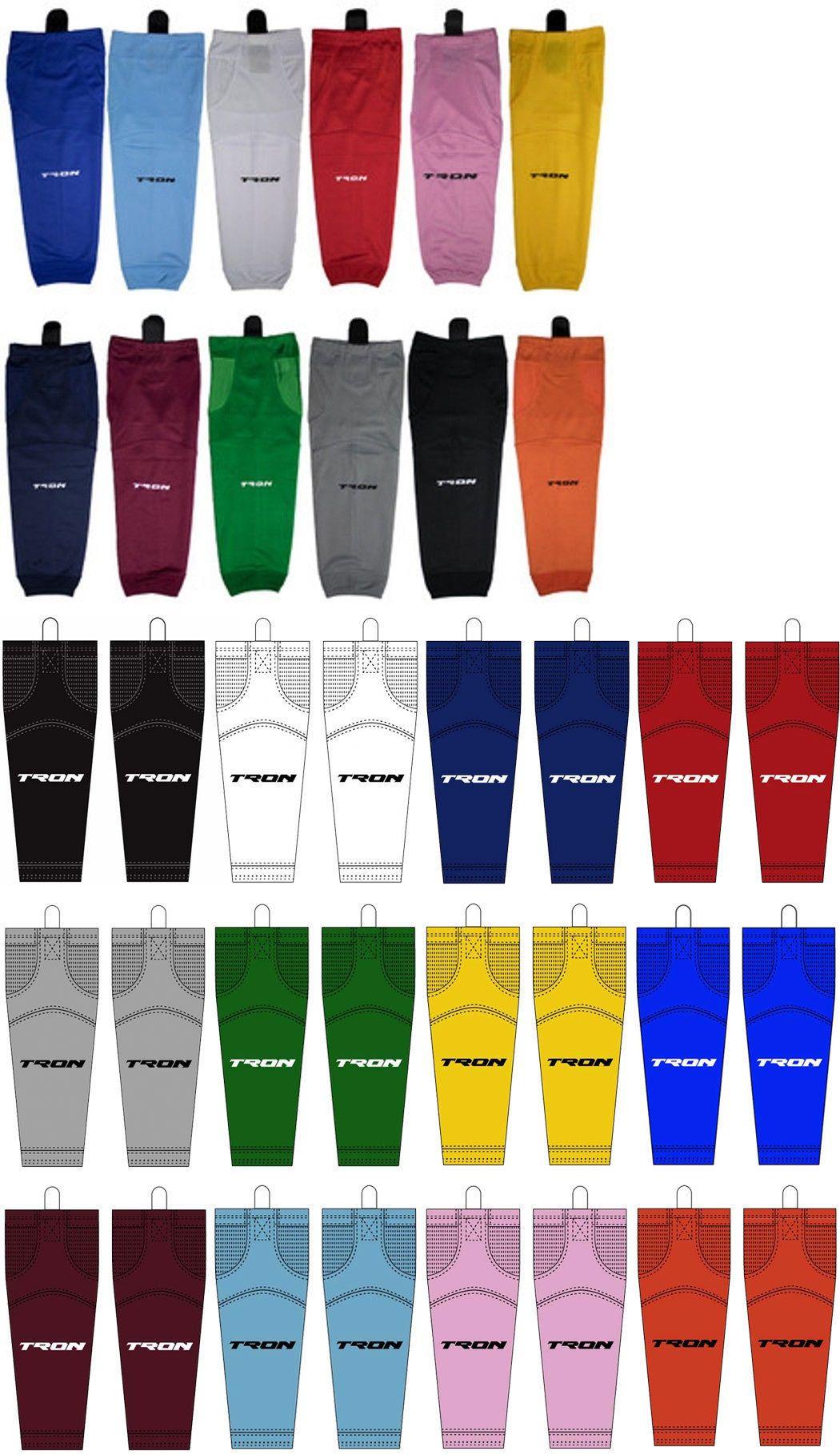 """Sky Blue Hockey Socks Dry Fit  Edge Inspired  Sizes  22/""""  26/""""  28/"""" or 30/"""" SK100"""