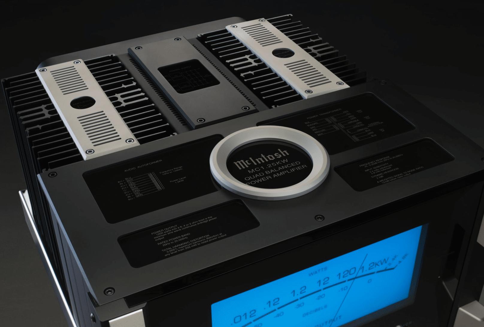 McIntosh MC1 25KW Quad Balanced Power Amplifier: single-chassis