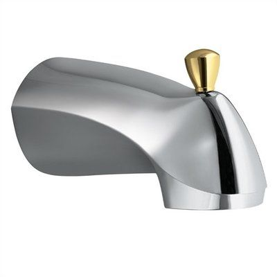 Moen Diverter Tub Spout With Cc Connections In Chrome With