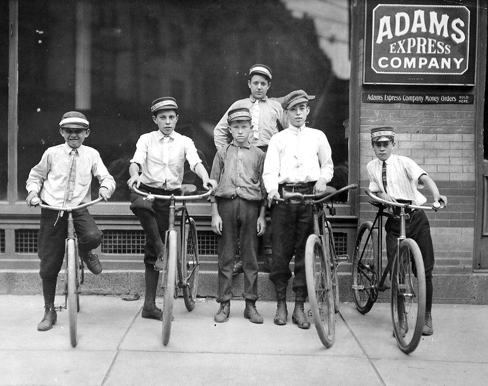 Child Postal Messengers - 1911