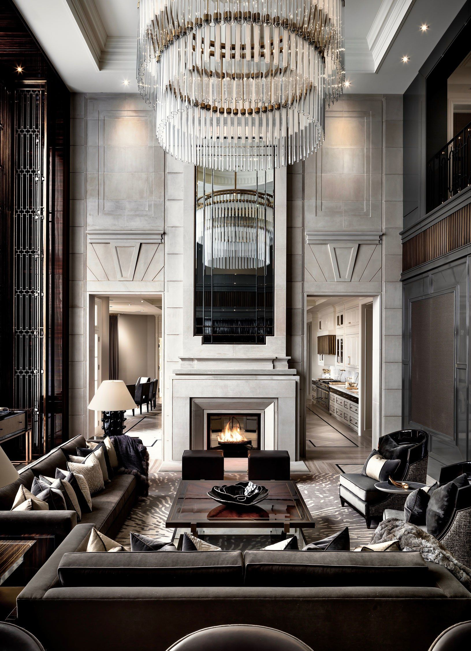 An Ultra Luxurious 50 Million Canadian Home That S Anything But Rustic Stunning Interior Design Luxury Interior Design Luxury Living Room