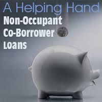 FHA allow mortgage borrowers to have non occupied co-borrowers to qualify for a residential FHA loan to meet debt to income ratio requirements.