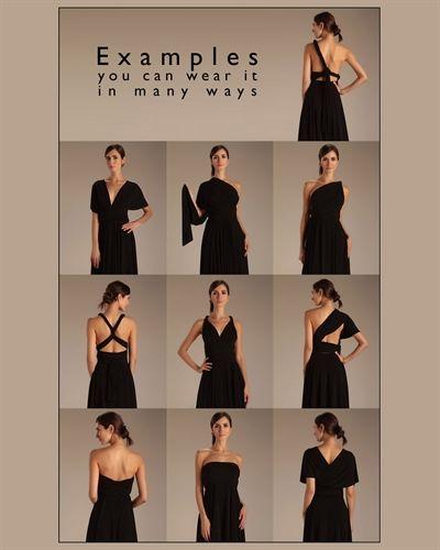 f6f47f9422 Von Vonni Transformer Dress - just a few of the many ways to wear it ...