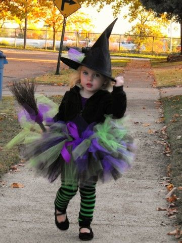 3 Year Old Princess Witch Costume Stripey Legs A Must