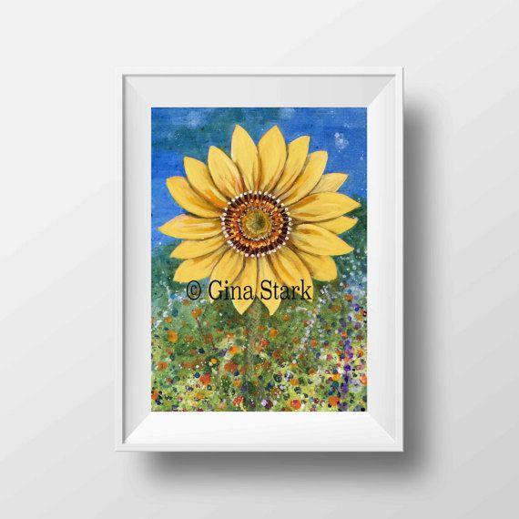 Fine Art Print Digital Download Bright and by starlustudio2