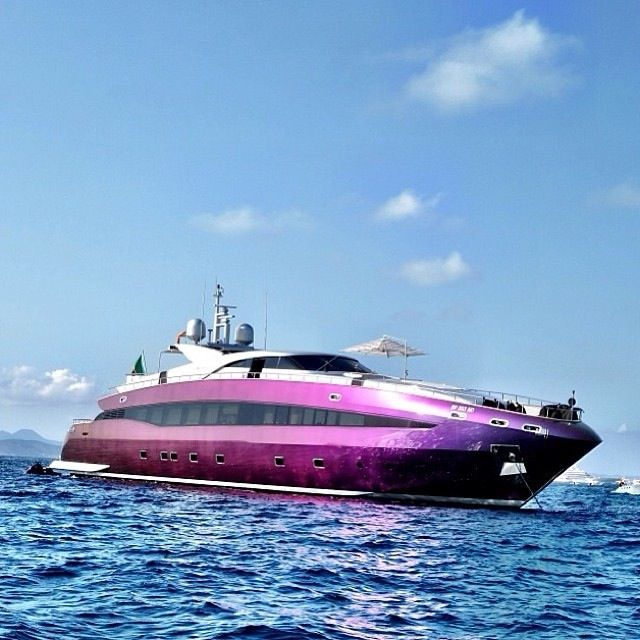 Cavalli Superyacht Love The Pink A Nice Change To The