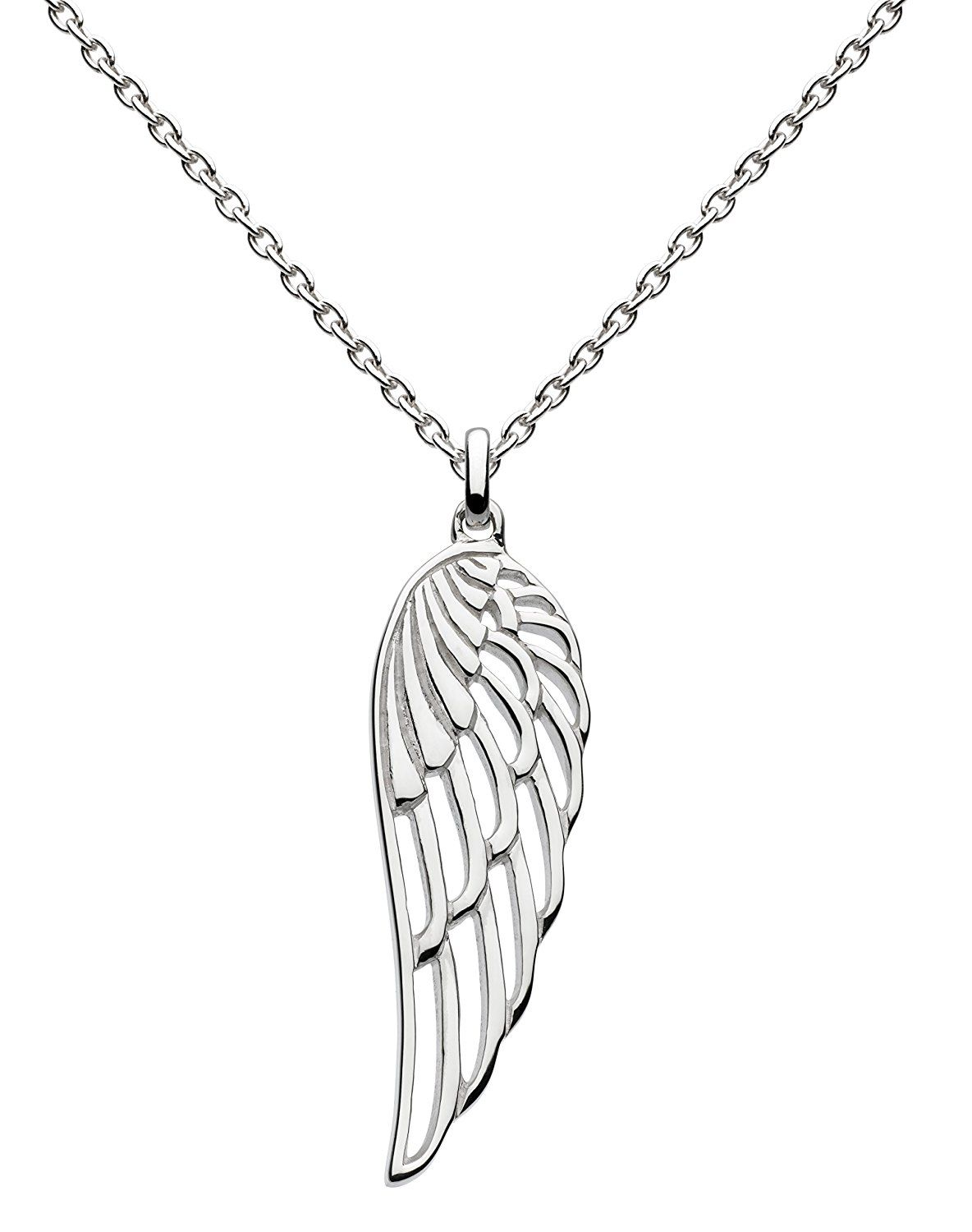 Dew Women's Art Nouveau Sterling Silver Necklace of Length 18 inch s0RPo0