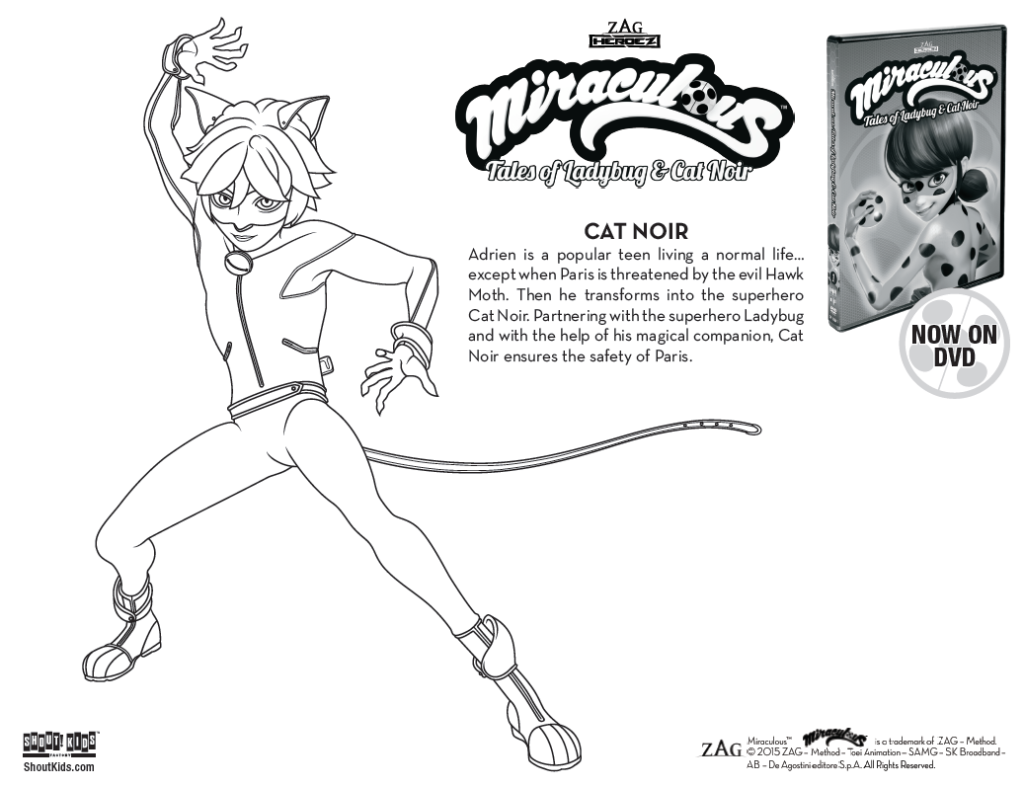 Miraculous Tales Of Ladybug Cat Noir Coloring Sheets Ladybug Coloring Page Coloring Pages Cool Coloring Pages