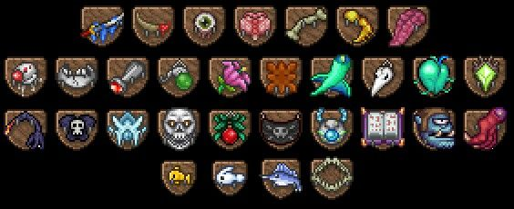 Trophies Gottacatch Emall Terraria House Ideas