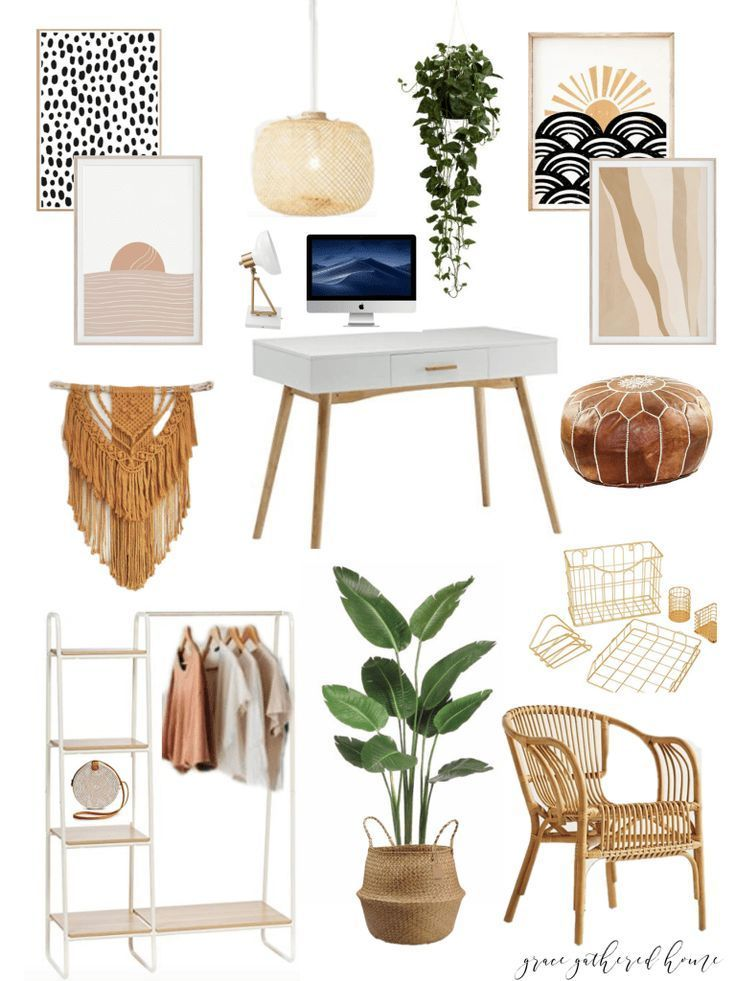 New Office Design Board • Grace Gathered Home