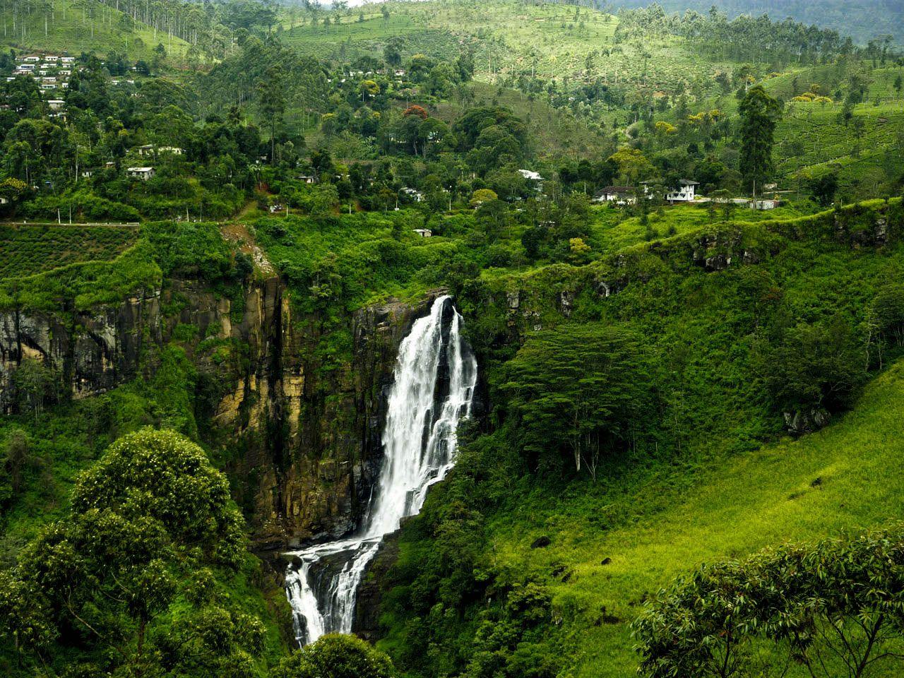 Water Fall In Sri Lanka Srilanka Wanderlust Pinterest Sri Lanka Beautiful Waterfalls