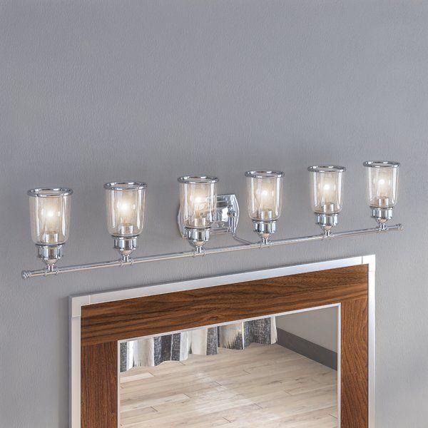 laurenza bath 6 light vanity light in 2019 manrique house vanity rh pinterest com