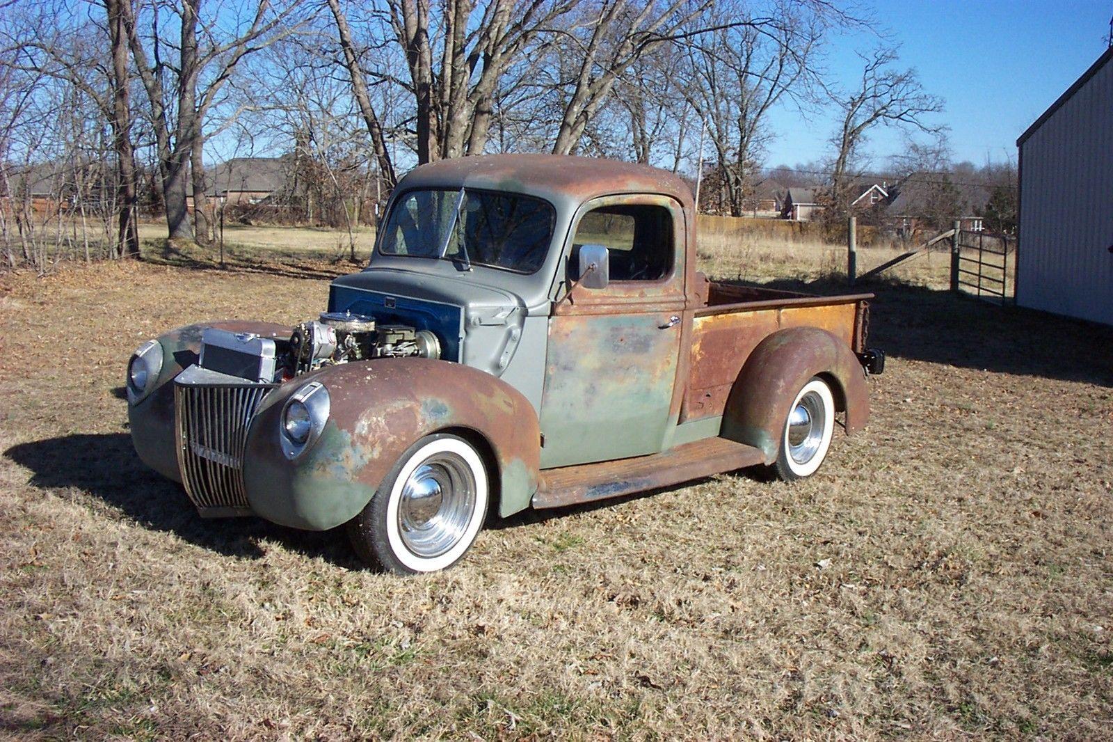1941 Ford Pickup Hot Rodrat Rodfarm Truck Favorite Build Vin Location