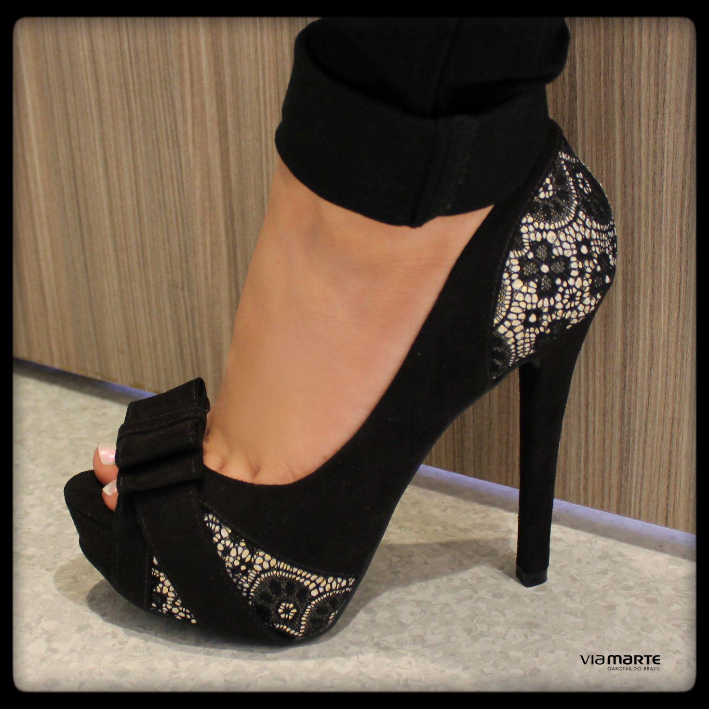 b203d0a9f salto alto - peep toe - heels - inverno 2014 - Ref. 14-6406 ...