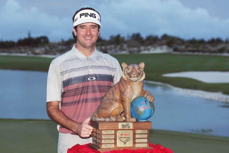 SportsDezk's blog.: Golf:Bubba Watson claims three-shot win at the Her...