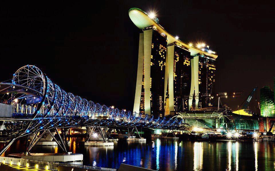 Worldwide Collection  Helix Bridge, Singapore.
