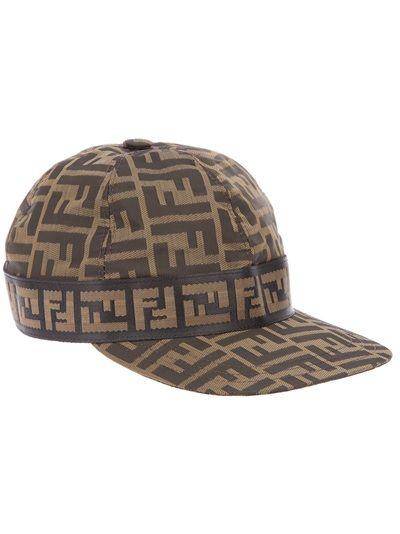 23f435ab263 FENDI Logo Embellished Cap