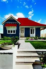 Houses With Red Roofs Photos Google Search Red Roof House House Exterior Painted Brick House