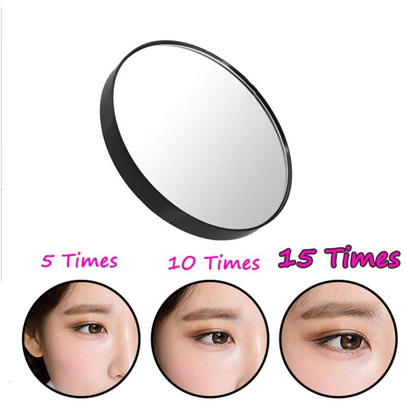15x Magnifying Mirror 3 5 Suction Cup For Women Beauty Makeup